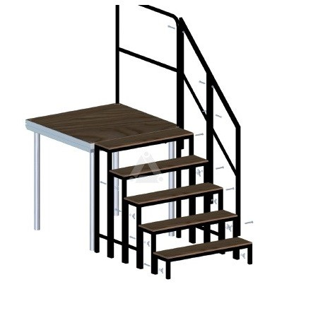 Stage Dex stairs